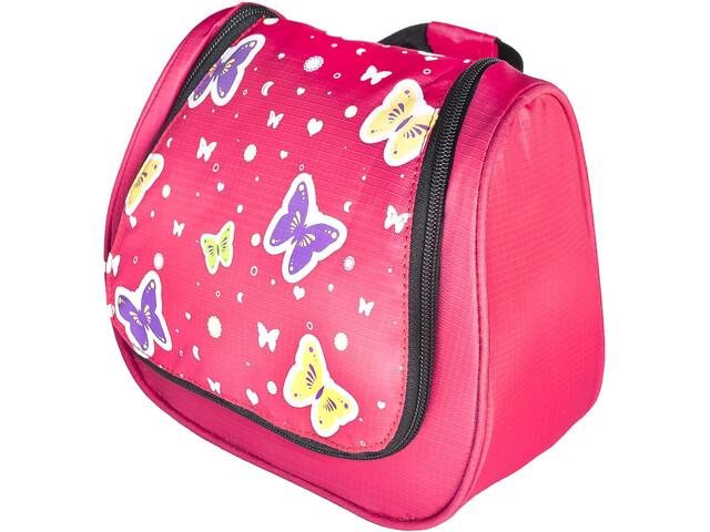 Grüezi-Bag Bttrfly Washbag Kinder pink